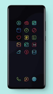 Caelus Icon Pack – Colorful Linear Icons (MOD, Paid) v3.3 2