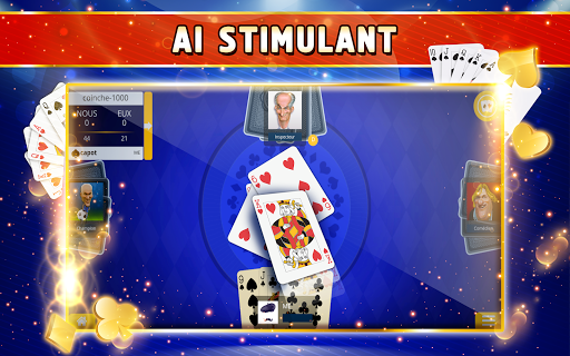 Coinche Offline - Single Player Card Game  screenshots 7