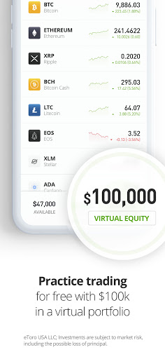 eToro - Smart crypto trading made easy 287.0.0 Screenshots 4