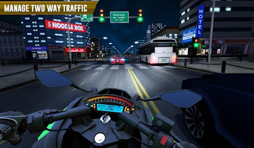 Police Moto Bike Highway Rider Traffic Racing Game  Screenshots 17
