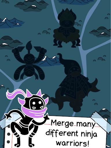 Ninja Evolution - Create & Merge Stealth Warriors modavailable screenshots 7