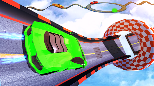 impossible track car driving games: ramp car stunt screenshot 2