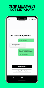 Session – Private Messenger Mod 1.7.3 Apk (Unlocked) 5
