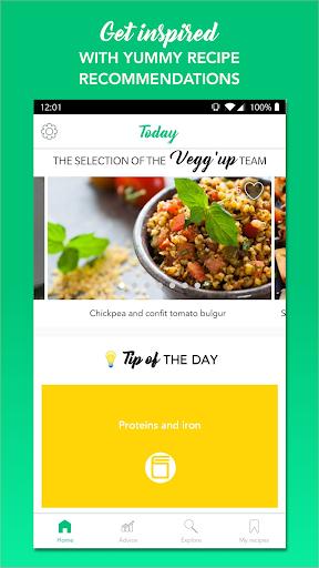 vegg'up - veggie recipes screenshot 1