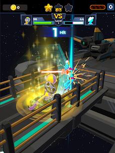 Supreme Saberman: Stickman Fight Space Invaders 9