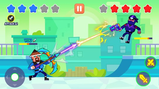 Swipe Master: Draw Your Weapon MOD Apk 1.0.0 (Unlimited Money) 3