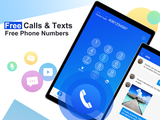 Free phone calls, free texting SMS on free number 4.15.10 Screenshots 5
