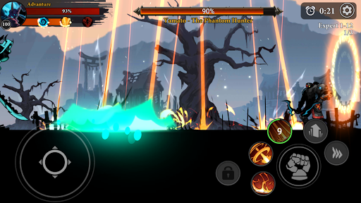 Stickman Master: League Of Shadow - Ninja Fight android2mod screenshots 5