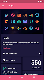 Folds - Icon Pack Screenshot