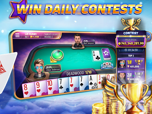 Gin Rummy Stars - Free online Rummy card game 1.11.101 Screenshots 4