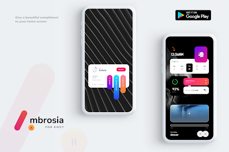 Ambrosia for KWGT APK [PAID] Download for Android 4