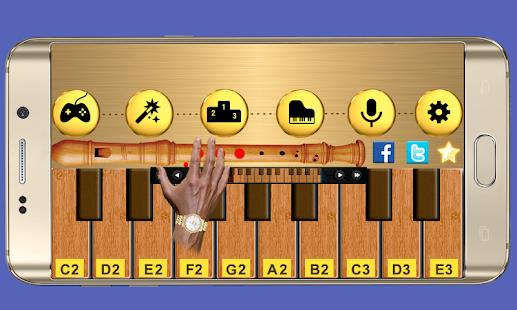 Real Flute & Recorder - Magic Tiles Music Games 1.3 screenshots 4