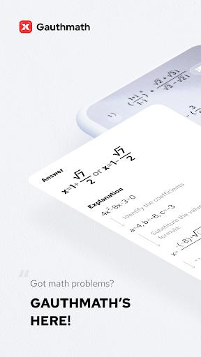 Gauthmath – Math Problem Solver with Math Tutors  screenshots 1