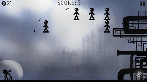 Stick Man Fight - Knife Hit & Throw Game! 2.5.0 screenshots 1