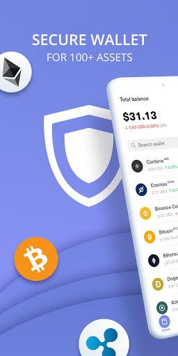 Guarda Crypto Wallet: Bitcoin, Ethereum, Ripple  screenshots 1