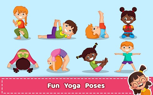 Yoga for Kids and Family fitness – Easy Workout 5