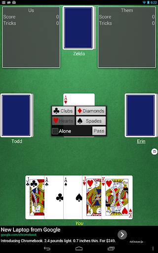 Euchre (free)  screenshots 4