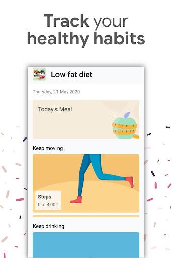 Foto do Low Fat Diet Recipes App