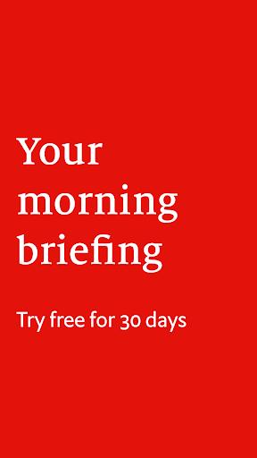 The Economist Espresso. Daily News  screenshots 1