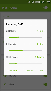 Flash Alerts on Call and SMS (PREMIUM) 3.96 Apk 5