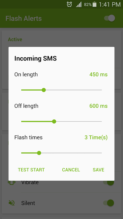Flash Alerts on Call and SMS  poster 4