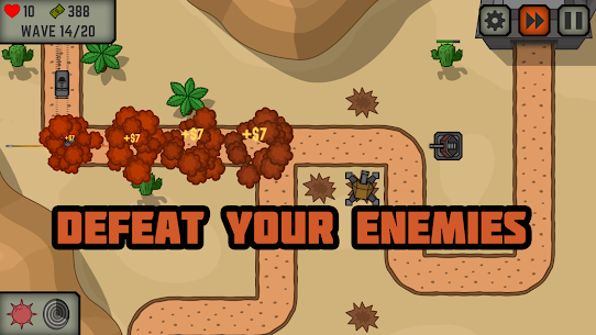 Tactical War: turn de aparare joc 5