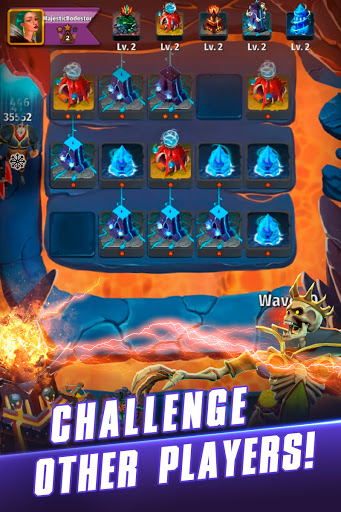Random Clash - Epic fantasy strategy mobile games  screenshots 6