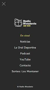 Radio Rivadavia AM630 1.1 screenshots 1