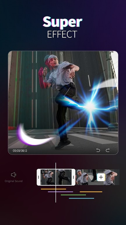 Magic Video Maker - Video Editor with music  poster 2