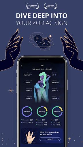 Nebula: Horoscope & Astrologyu2013Zodiac Compatibility apktram screenshots 1