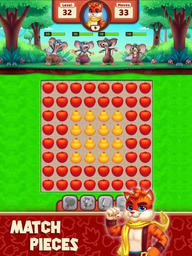 Cat Heroes - Color Match Puzzle Adventure Cat Game  screenshots 8