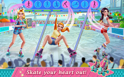 Roller Skating Girls - Dance on Wheels 1.1.6 Screenshots 14