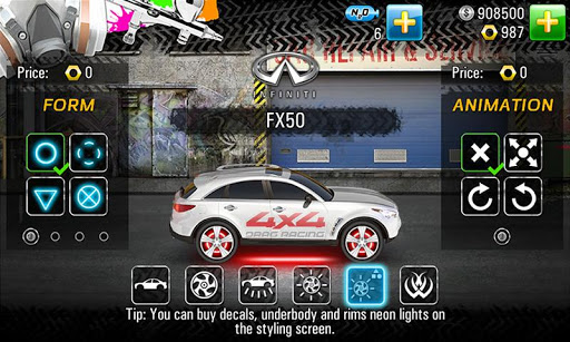 Drag Racing 4x4 screenshots 7