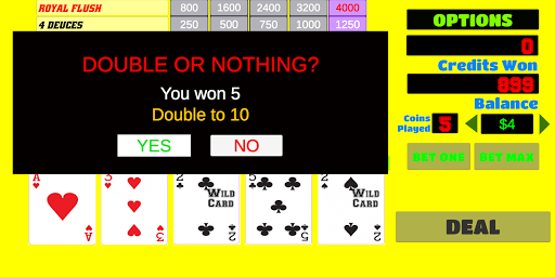 Deuces Wild - Video Poker 1.9 screenshots 4