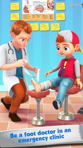 Foot Surgery Doctor Care:Free Offline Doctor Games screenshots 4