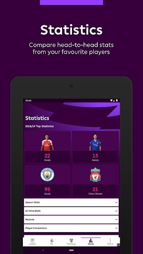 Premier League - Official App 2.4.2.2166 Screenshots 9
