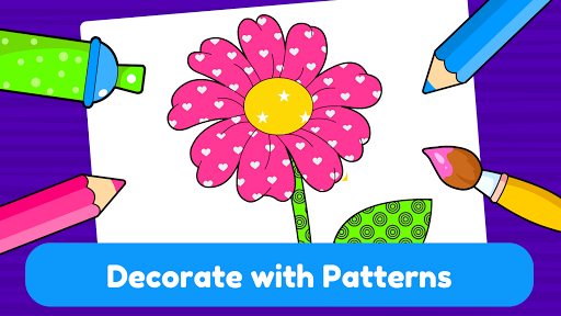 Learning & Coloring Game for Kids & Preschoolers  screenshots 6