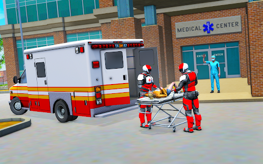 Light Speed Hero Rescue Mission: City Ambulance 1.0.4 screenshots 1