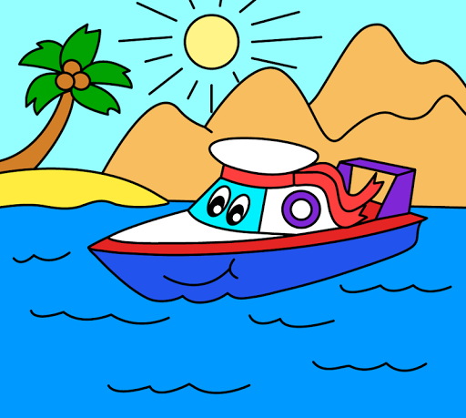 Coloring pages for children : transport 1.1.9 screenshots 10