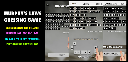 Murphy's Laws Guessing Game PRO - Apps on Google Play