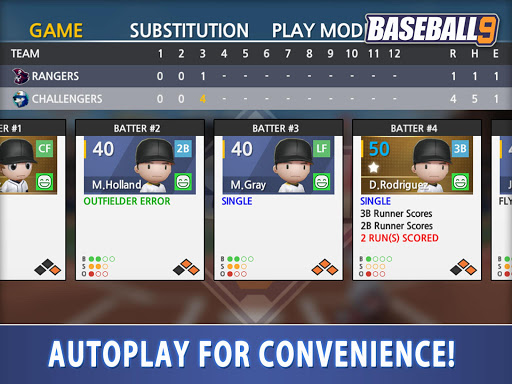 BASEBALL 9 1.5.6 screenshots 5