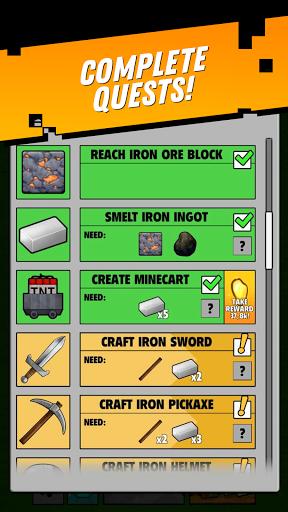 Minetap: Epic Clicker! Tap Crafting & mine heroes  screenshots 8