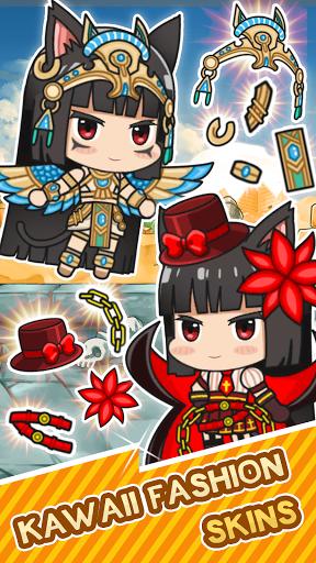 Isekai Samurai Cat Kawaii  screenshots 9