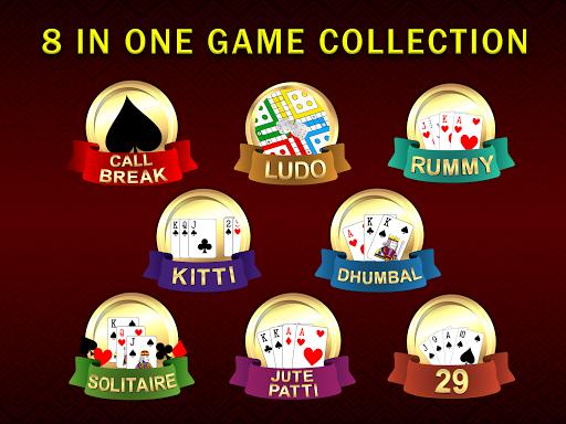 Callbreak, Ludo, Rummy, 29 & Solitaire Card Games 2.8 screenshots 9