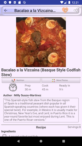 ufeffAmerica and Caribbean Food Recipes 2.0 screenshots 5