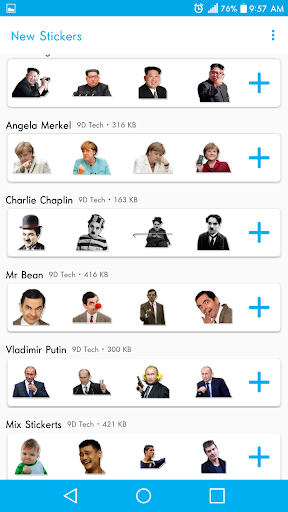 New Stickers For WhatsApp - WAStickerapps Free modavailable screenshots 4