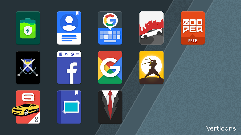 Verticons Icon Pack  poster 3
