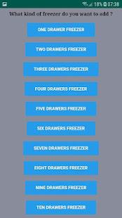 Frizor - manage contents of your freezor