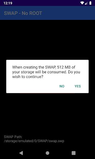 SWAP - No ROOT apkpoly screenshots 2