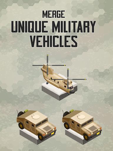Merge Military Vehicles Tycoon 1.1.4 screenshots 7